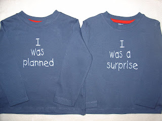 Perfect tops for twins
