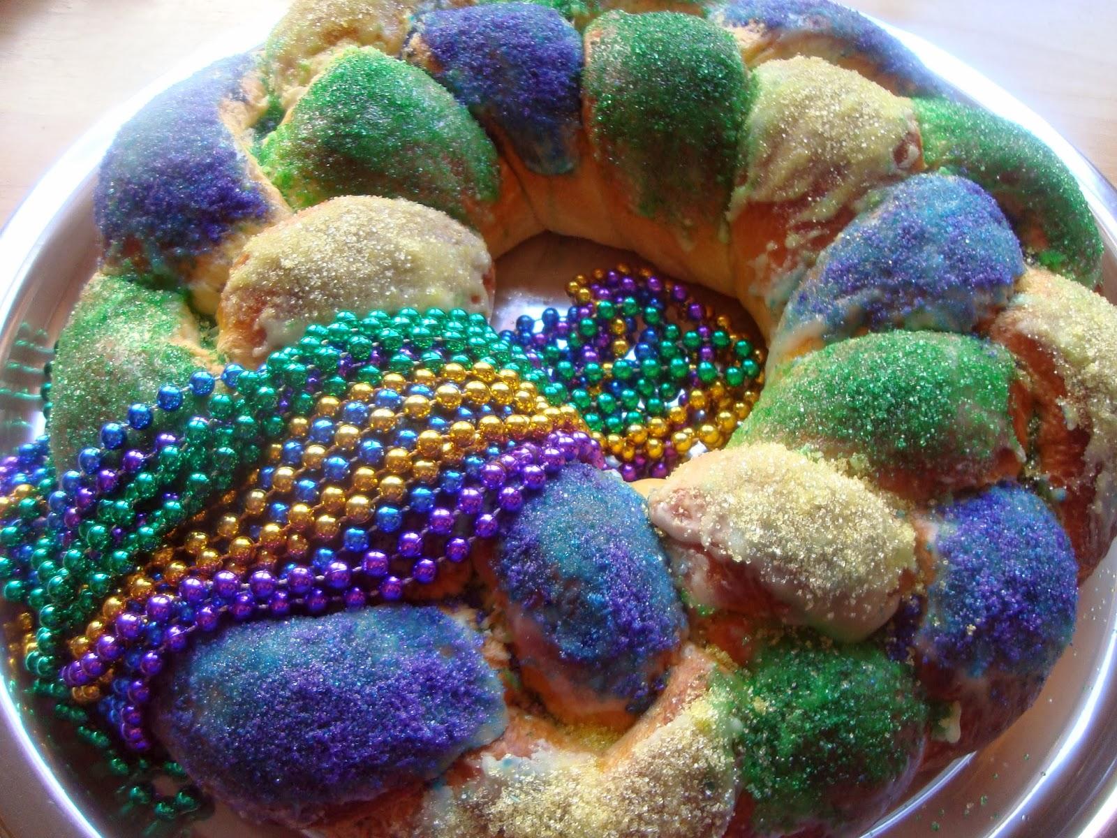 Red Velvet King Cake New Orleans