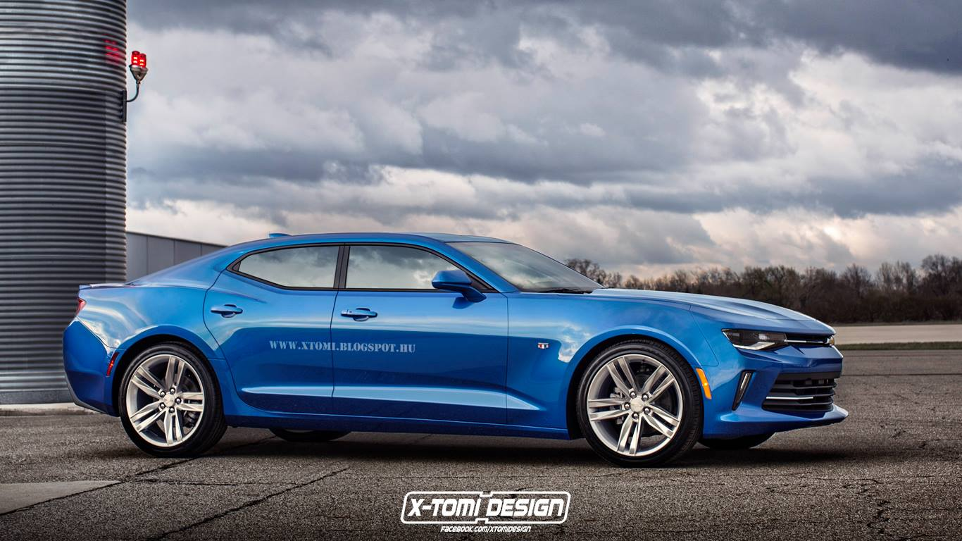 What About A 2016 Camaro Rs Shooting Brake Or Four Door