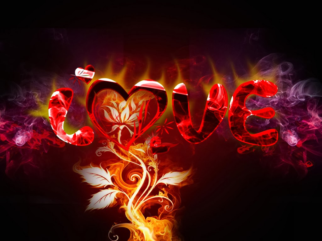 Vibrant Love HD Wallpaper For Desktop - HD Wallpaper Pictures