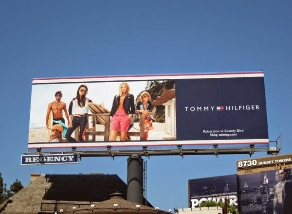Tommy Hilfiger beachwear 2014 billboard