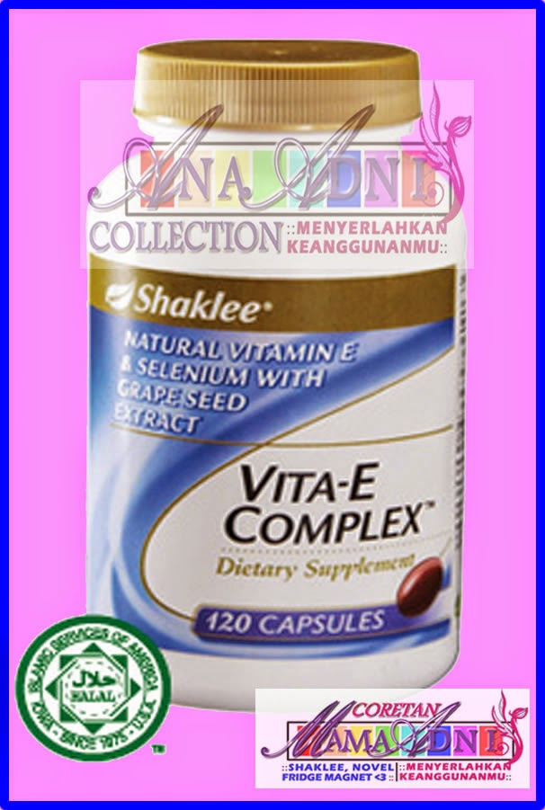 Vitamin E Shaklee yang best