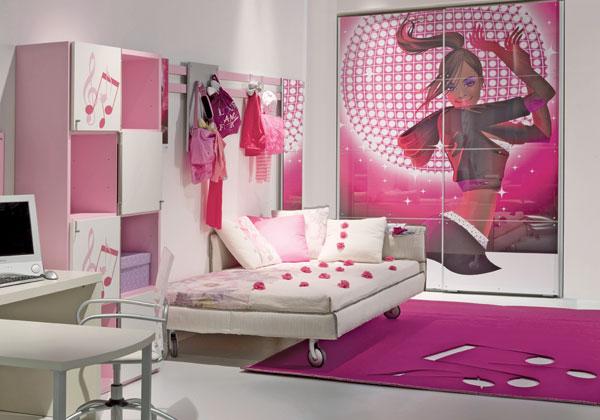 Dormitorios color rosa para adolescentes ideas para for Dormitorios para ninas adolescentes