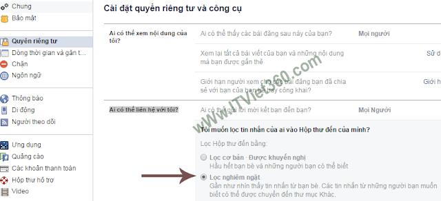 Cách chặn tin nhắn inbox spam nhóm (Group) trên Facebook (FB)