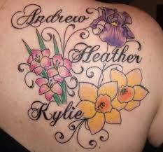 Flower Tattoos Names