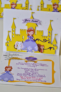 handmade_invitations disney_princess sofia_the_first birthday  invitaciones convites