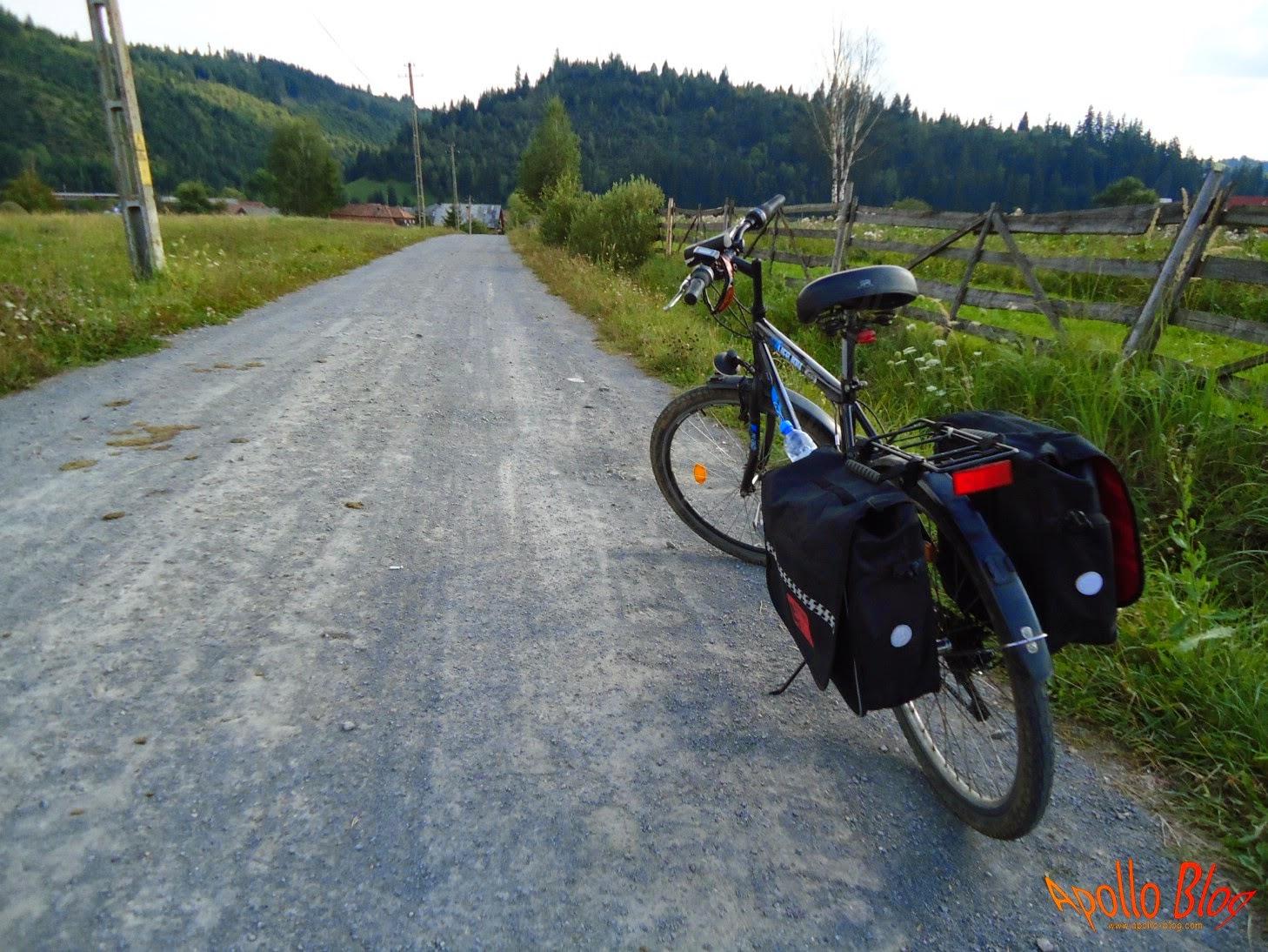 Bicicleta cu coburi