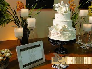 bolo, vela, candelabro cristal, decoração
