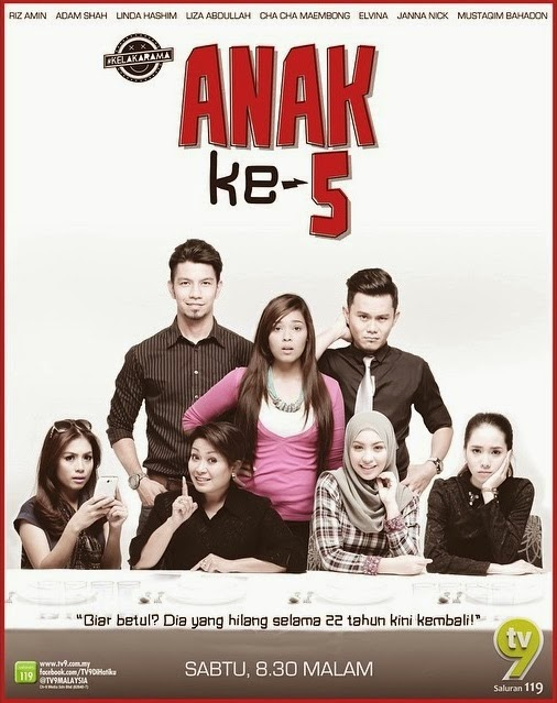 Tonton Anak Ke-5 TV9 Full Episod