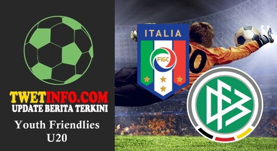 Prediksi Italy U20 vs Germany U20, Friendlies U20 03-09-2015