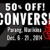 50% OFF! Converse Sale in Parang, Marikina!