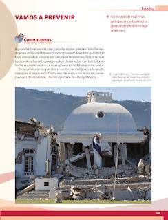 Vamos a prevenir - Geografía 6to Bloque 5 2014-2015