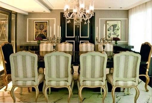 Conjunto De Sala De Jantar Luis Xv ~ Blog Decoração de Interiores Mesas Classicas de Jantar