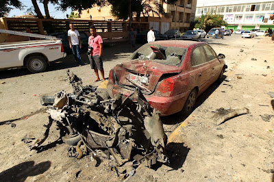 Car bomb set off near Swedish consulate in Libya's Benghazi