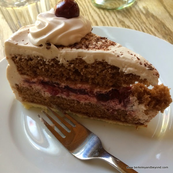 Black Forest cake at Gaumenkitzel in Berkeley, California