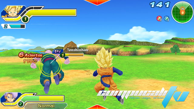 Dragon Ball Z: Tenkaichi Tag Team PC Español Repack