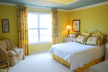 #12 Yellow Bedroom Design Ideas