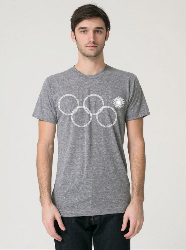 Sochi Winter Olympics ring fail t-shirt