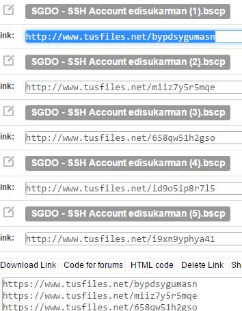 SSH Account Server Singapura (SG.DO) Gratis 25 Oktober 2014