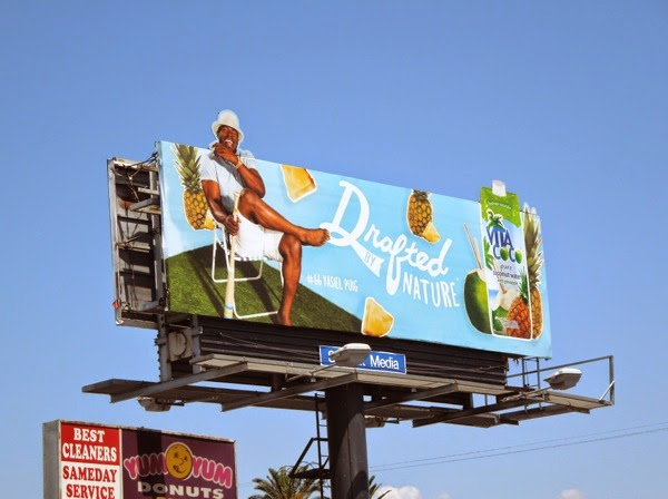 Drafted by Nature Vita Coco billboard