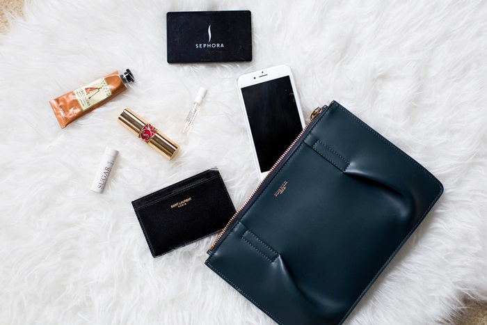 von vogue what's in my bag saint laurent lyst
