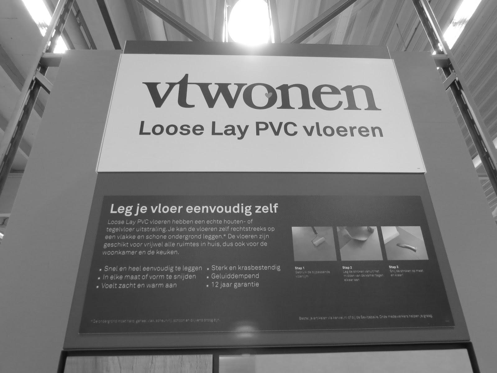 Vika nieuws nieuwe presentatie bij karwei van forbo pvc vloeren