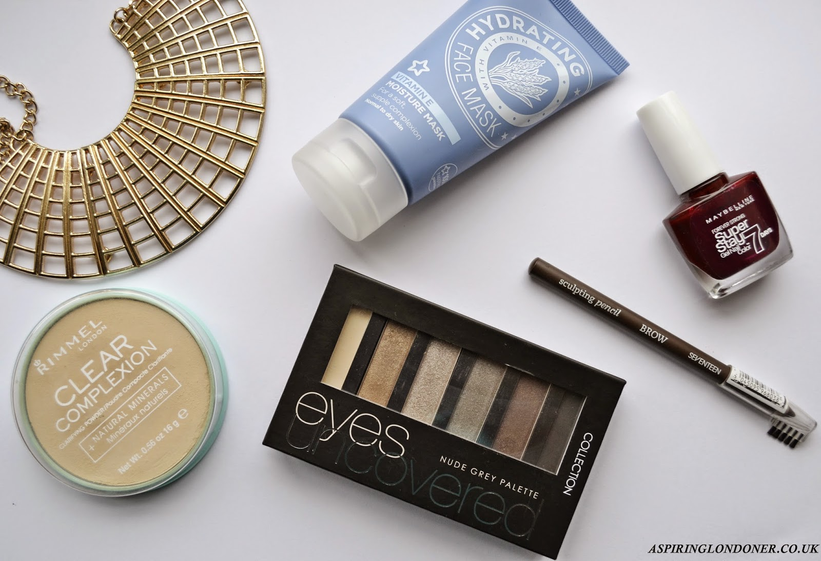 5 Under £5 Review ft Rimmel, Collection, Maybelline - Aspiring Londoner
