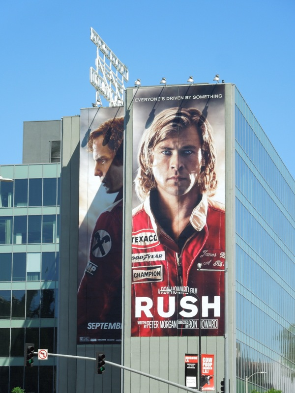 Giant Rush film billboard