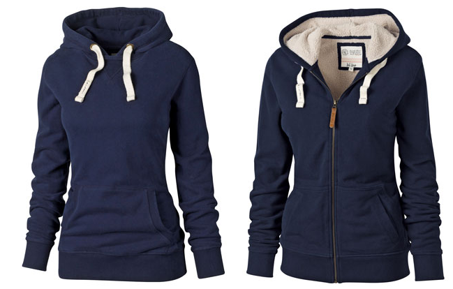 Sports and Stylish Navy Blue Hoodie for Winter and Autumn Women ...