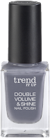 Preview: Die neue dm-Marke trend IT UP - Double Volume & Shine Nail Polish 070 - www.annitschkasblog.de