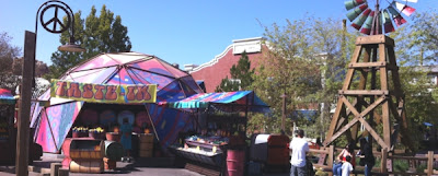 Filmore's Taste-In in Cars Land
