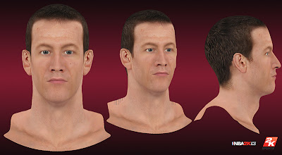 NBA 2K13 Steve Novak Cyberface Patch