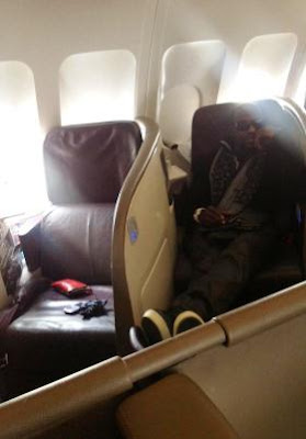 Photos Of Nollywood Actor, Jim Iyke Doing Private Jet Thingz
