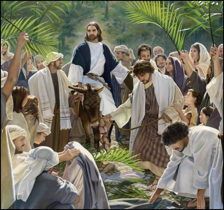 Palm Sunday Palm Sunday or Passion Sunday