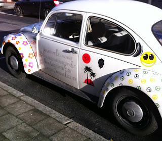 Bemalter VW Käfer