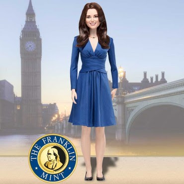 Kate Middleton Royal Engagement Vinyl Doll