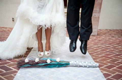 Afro Europe Is Jumping The Broom A Black American Tradition
