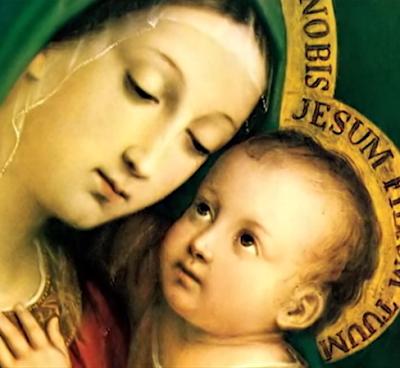 El Arca del nuevo testamento es una Mujer con una corona