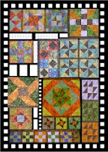 MY BATIK VERSION OF THE AFA QUILT-ALONG