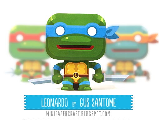 Vintage Ninja Turtle Inspired Products and Designs