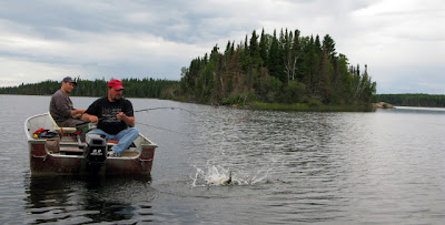 Ontario fly-in walleye fishing