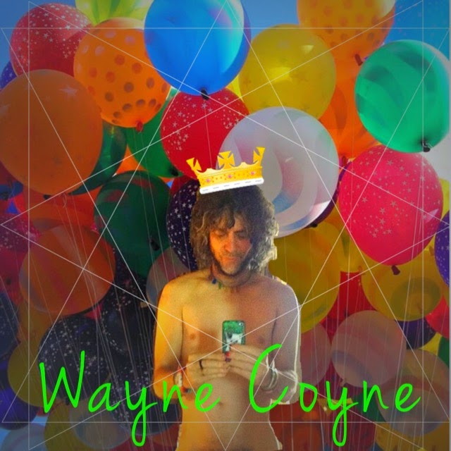 Wayne Coyne naked with balloons