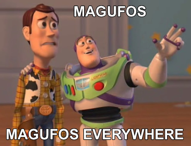 magufos, magufos everywhere (meme)
