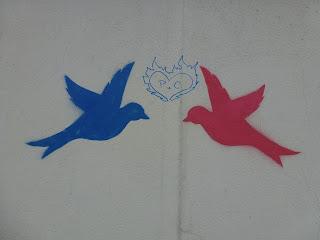 Streetart, Stencil, Graffiti