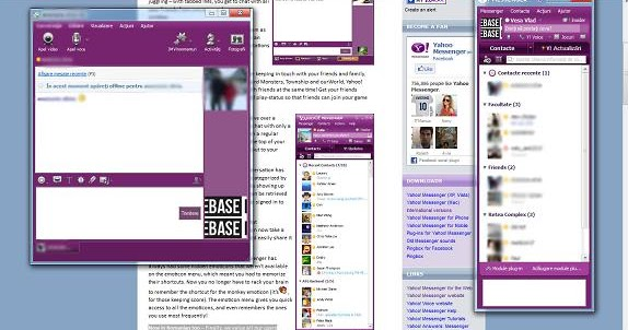 chat room in yahoo messenger 11