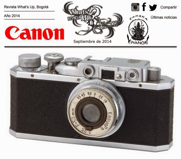 Canon-celebra-80-aniversario-cámara-Kwanon-primera-cámara-compañía
