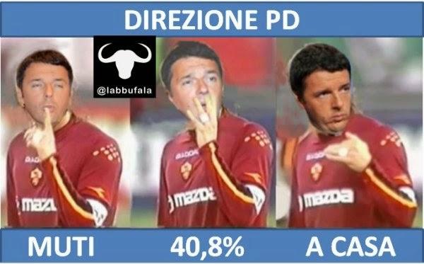 direzione PD, Pd, Renzi