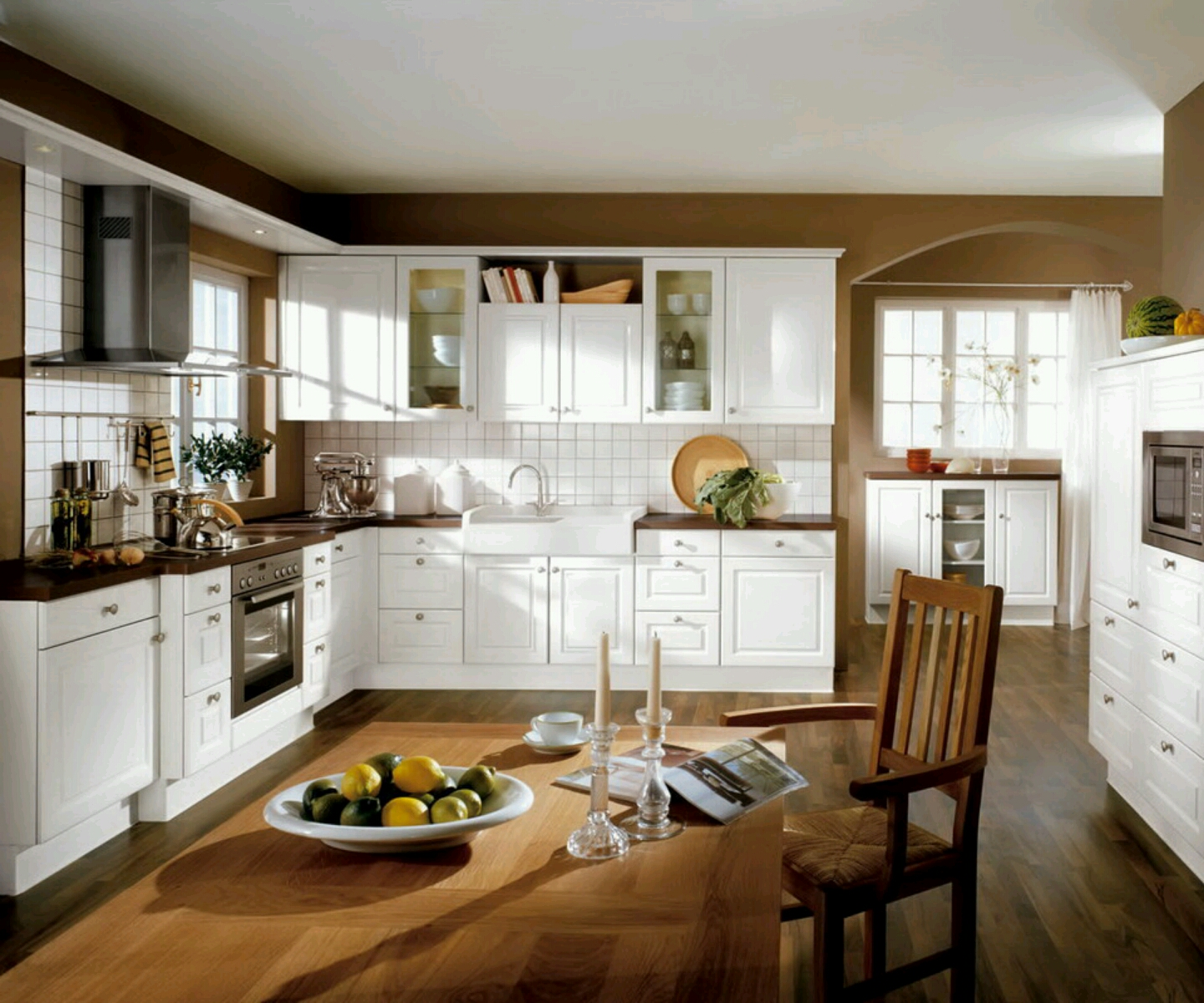 20 modern kitchen design ideas for 2012 pictures long for Kitchen cabinet design