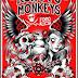 Los Kung Fu Monkeys en Multiforo Alicia Sábado 30 de Noviembre
