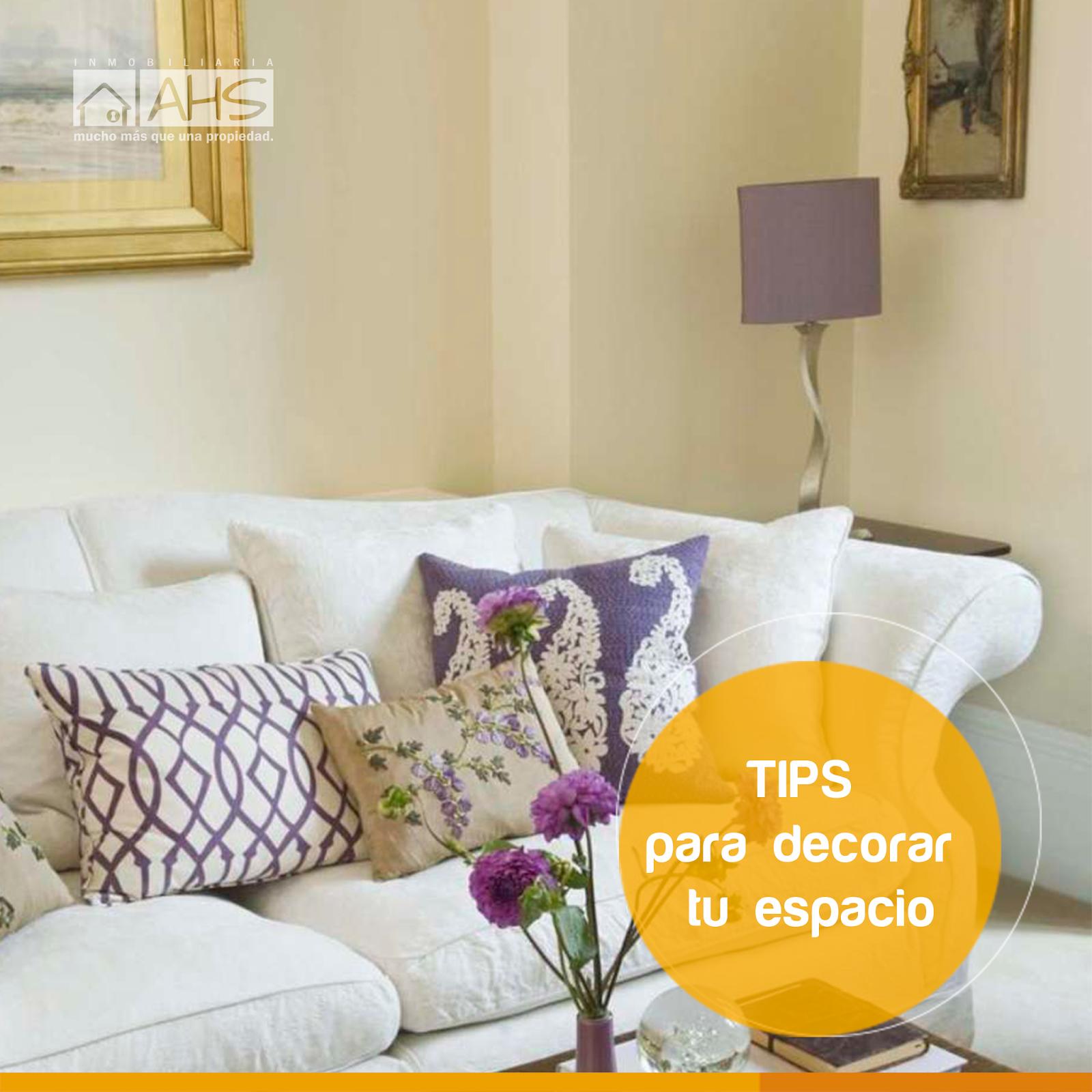 Tips para una buena decoraci n de interiores ahs for Tips de decoracion de interiores